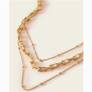 NWOT Urban Outfitters Layered Chain Necklace